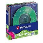 CD-RW «Verbatim», 8cm colour 8x-12x