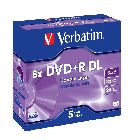 Диск «DVD+R Verbatim» 8x, 8.5 Gb/240min