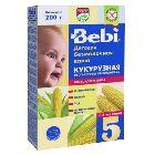 Каша кукурузная низкоаллергенная, обогащённая пребиотиками «Bebi», безмолочная (200г.)