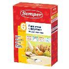 Каша пшеничная с фруктами «Semper», безмолочная (200г.)