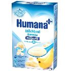 Каша рисово-кукурузная с бананом и пребиотиками «Humana», молочная (250г.)