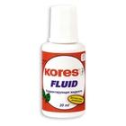 Корректирующая жидкость «Kores Fluid», 20мл, быстросохнущая (3915)