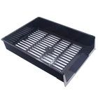Лоток для бумаг «Унипласт Престиж», черный (0220427)