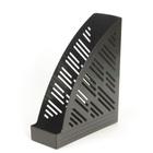 Лоток для бумаг «Унипласт-85», вертикальный, черный (0220483)