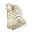 Лоток для бумаг «Унипласт-95», вертикальный, дымчатый (0220619)