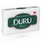 Мыло хозяйственное «Duru» 4шт. б/отдушки (150г)