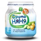 Пюре из кабачков и картофеля «ФрутоНяня» (80 г.)