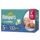 Подгузники «Pampers Active Baby 5» Junior 11-25 кг (132 шт.)