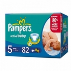 Подгузники «Pampers Active Baby 5» Junior 11-25 кг (82 шт.)