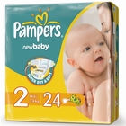 Подгузники «Pampers New Baby 2» Mini 3-6 кг (24 шт.)