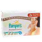 Подгузники «Pampers Premium Care 3» Midi 4-9 кг (120 шт.)
