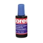 Штемпельная краска «Kores», синяя, 27мл (3181)