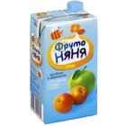 Сок «ФрутоНяня» из яблок и абрикосов с мякотью, (500 мл)