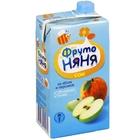 Сок «ФрутоНяня» из яблок и персиков неосветленный, (500 мл)