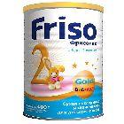 Сухая молочная смесь «Friso Фрисолак Голд 2», (400г)