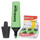 Текстмаркер «Erich Krause V-10», флуоресцентный, зеленый (4786)